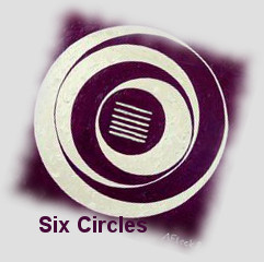 Six Circles for children luck and an auspicious future