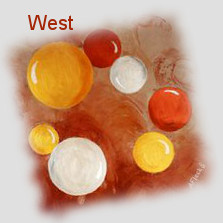 West for children luck and an auspicious future